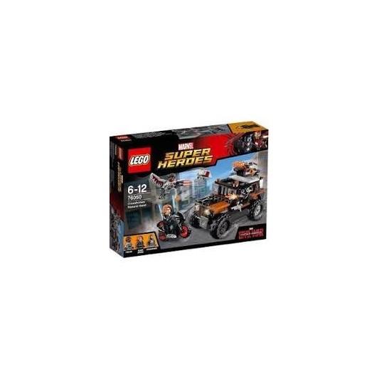 LEGO JUEGO DIDACTICO SUPER HEROES CAPITAN AMERICA MOVIE 1 M.22991/5