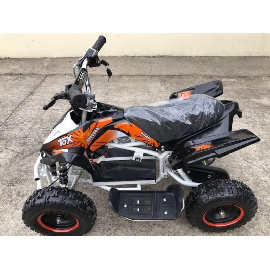 MINI ATV CUATRICICLO HB-ATV500 NIÑOS RACING 500W NARANJA/NEGRO