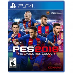 SONY VIDEO JUEGO PRO EVO SOCCER 2018 P/PS4