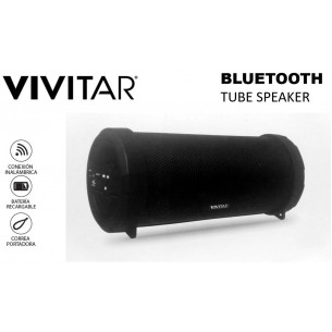 VIVITAR PARLANTE BLUETOOTH VF60013BT-BLK TUBE