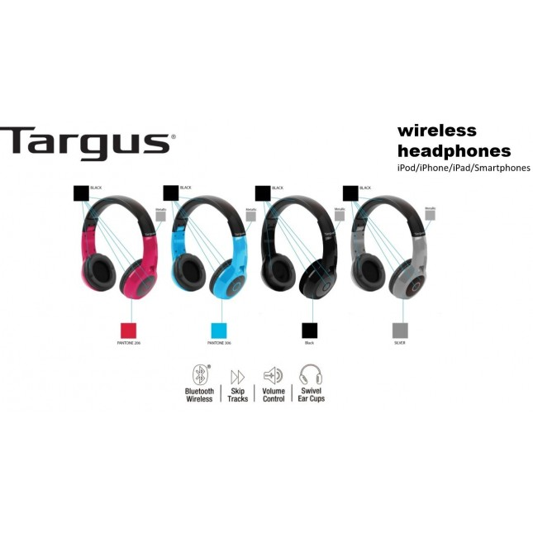 TARGUS WIRELESS HEADPHONES TA-44HP BT BLUETOOTH