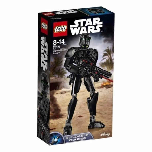LEGO JUEGO DIDACTICO STAR WARS IMPERIAL DEATH TROOPER M.23409/6