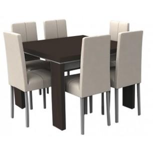 Juego de mesa y sillas Mesa 493