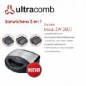 ULTRACOMB SANDWICHERA SW-2801 750W 3 EN 1