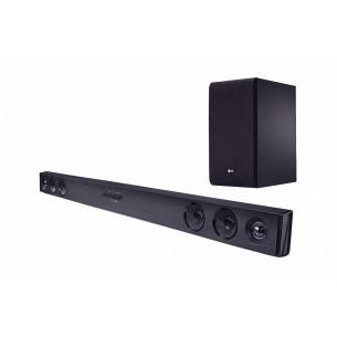 LG SOUNDBAR SJ3 300W BLACK DOLBY/DTS BLUETOOTH + WIRELESS SUBWOOFER