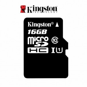 KINGSTON TARJETA MICRO SD-16GB SDHC CANVAS S/ADAPTADOR