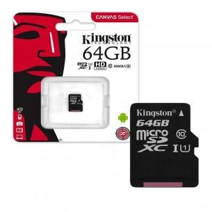 KINGSTON TARJETA MICRO SD-64GB SDCS