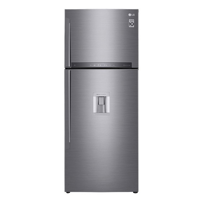 LG HELADERA GC-F502HLHU | NO FROST | 441LTS | INVERTER | SILVER
