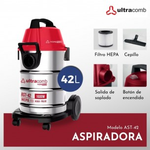 ULTRACOMB ASPIRADORA AST-42 HOME TECH