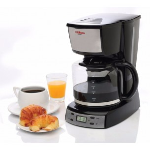 "LILIANA CAFETERA AAC964 ""SMARTY"" C/TIMER CROMADO"