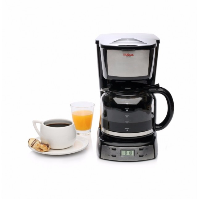 """LILIANA CAFETERA AAC964 """"SMARTY"""" C/TIMER CROMADO"""