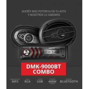 Crown Mustang Kit DMK-9000BT Autoestereo+ Jgo. de Parlantes