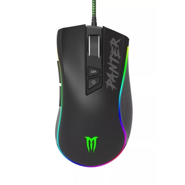 PANTER MOUSE GAMER GM302 RAYDEN MULTICOLOR