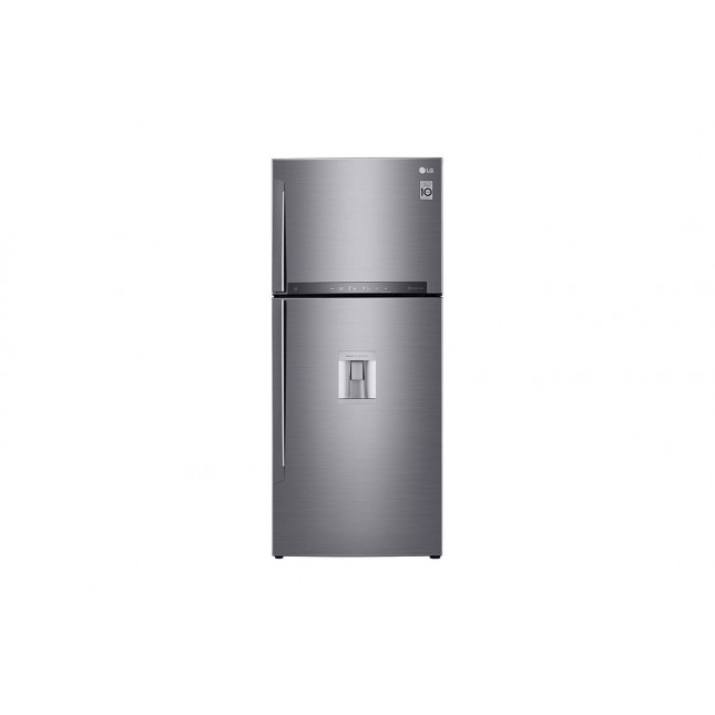 LG HELADERA GM-F432HLHN | NO FROST | 410LTS | INVERTER | DISPENSER | SILVER
