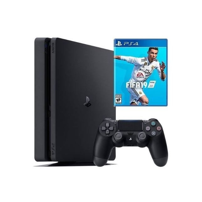SONY PLAY STATION 4 + FIFA 19 1TB (CUH-2115B)