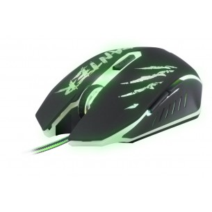 Mouse Gamer Optico Usb Multicolor Con Cable