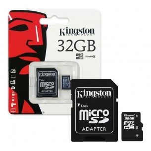Memoria Kingston Micro Sd Hc 32gb Clase 10
