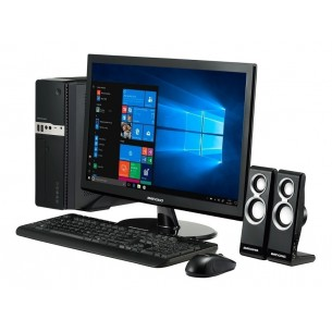 BANGHO CROSS DESKTOP B02 R3 AMD RYZEN 3 2200G PRO | SSD 240GB | 4GB | WIND.10+MONITOR LED 22""