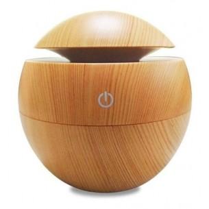 Humidificador Difusor Aromatizador Bamboo