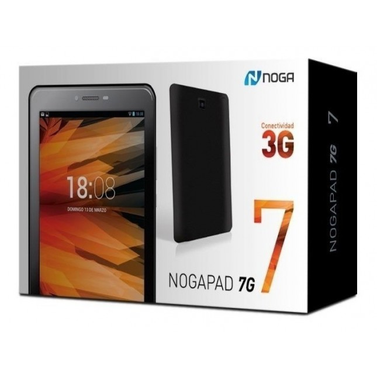 "NOGANET TABLET NOGAPAD-7G QUAD CORE 3G/16GB/1GB RAM/PANT.7"""