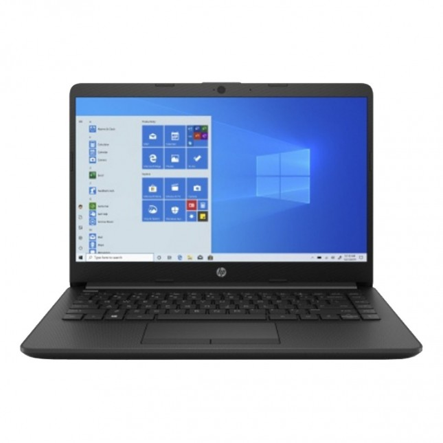 HEWLETT PACKARD NOTEBOOK 14 DK1003 | AMD ATHLON SILVER 3050U | 2.3GHZ | 128GB SSD | WINDOWS 10 JET BLACK