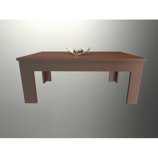 TABLE'S MESA RATONA RECTANGULAR CIEGA 093X037X060 ART.2006 MELAMINA CAOBA