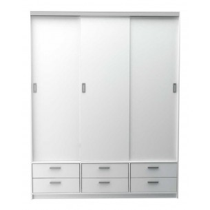 TABLE'S PLACARD CORREDIZO 1.77 MTS 6404-BM BLANCO M.