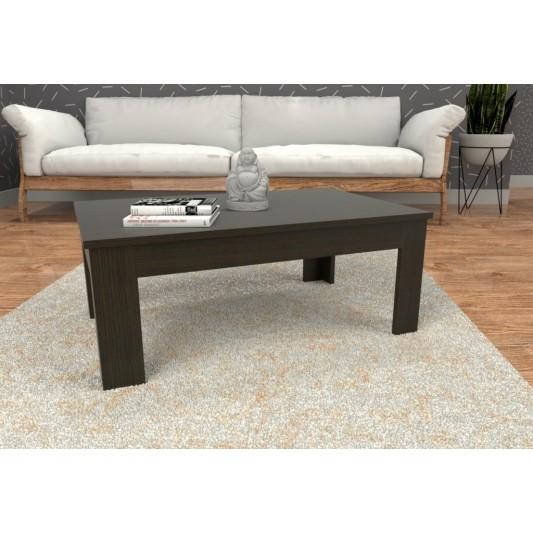 TABLE'S MESA RATONA RECTANGULAR CIEGA 093X037X060 ART.2006 MELAMINA WENGUE