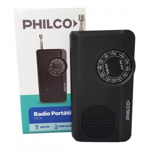 PHILCO RADIO PORTATIL TIPO DE CANCHA PRC38 ANALOGICA