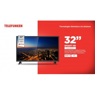 "TELEFUNKEN LED TV 32"" TKL-E3218RTX SMART HD"