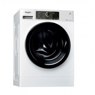 WHIRLPOOL LAVARROPAS WLCF85BAAR CARGA FRONTAL 8.5KG 1400RMP COLOR BLANCO SUPREME CARE