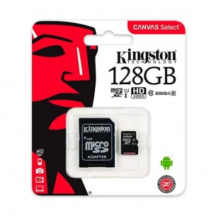 KINGSTON MICRO SD SCDS2 C/ADAPT 128GB