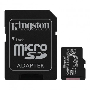 KINGSTON TARJETA MICRO SD-C16GB 1 ADAPT