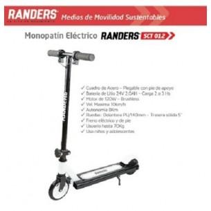 RANDERS MONOPATIN ELECTRICO SCT-012 | NIñO | 120W