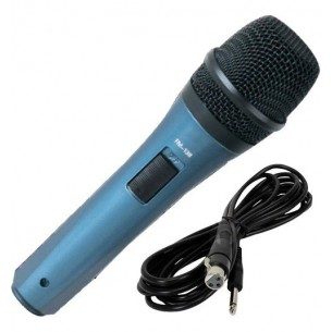 ROSS MICROFONO C/CABLE FM-140HT VOCAL DINAMICO 60HZ A 14KHZ