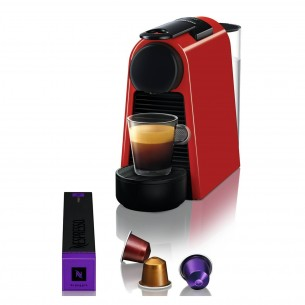 NESPRESSO ELECTRO CAFETERA ESSENZA D30-AR-RE-NE MINI RED AR