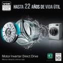LG LAVARROPAS AUT WM-85WE6 FRONTAL INVERTER 8.5KG 1200RPM BLANCO