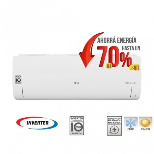 LG A.AIRE SPLIT S4-W24KE3A1 6.0KW | INVERTER | FRIO-CALOR