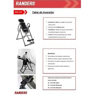 RANDERS TABLA DE INVERSION ARG-231