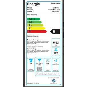 DREAN LAVARROPAS AUT CONCEPT ELECTRONIC 5.05 V1 15 PROG