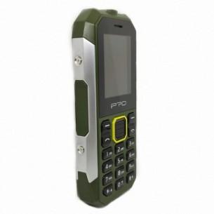 IPRÓ TELEFONO CELULAR SHARK IP67 GREEN