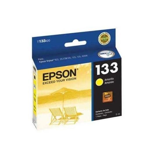 EPSON CARTUCHO 133 PARA IMPRESORA TX125 AMARILLO