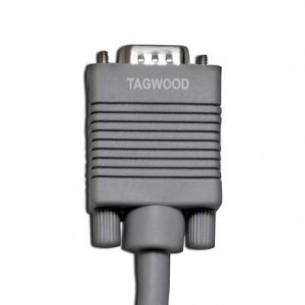 TAGWOOD CABLE HVGA02 3MTS VGA MACHO 15 PINS
