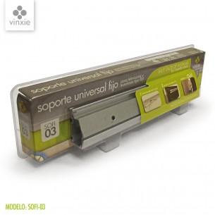 vinxie soporte universal de pared fijo 1,2 click 25 cm mod:sofi03