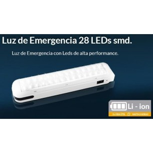 TRV LUZ DE EMERGENCIA 28 LED LE001